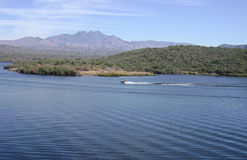 Arizona trailblazers trip report for Saguaro lake fishing